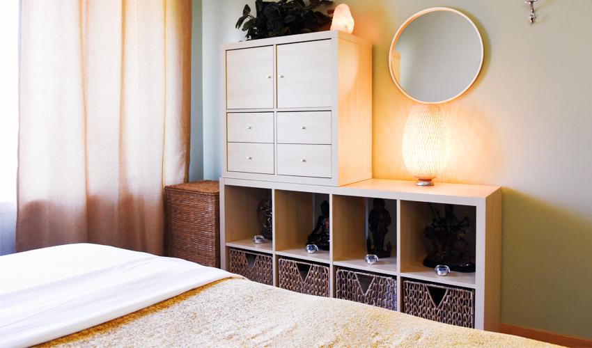 massage room at Kirkland Whole Life Clinic